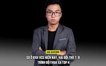 Phỏng vấn HLV JackieWind của GAM Esports: Xét trên BXH VCS hiện nay, hai đội thứ 7, 8 thua trình top 4 rất xa