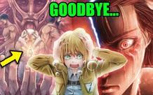 Attack On Titan và 4 siêu phẩm manga có kết thúc bị nhận nhiều