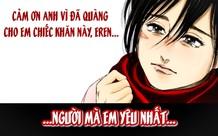 Quá thương tiếc cho tình yêu của Mikasa và Eren, các fan Attack on Titan tin rằng