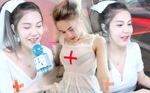 Nữ streamer Liên Quân 2001 bất ngờ hóa thân thành y tá trên sóng khiến fan