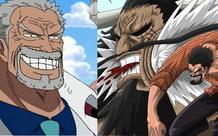 One Piece: Có thể sánh ngang với Vua hải tặc Roger, liệu ông nội Luffy có Haki bá vương hay không?