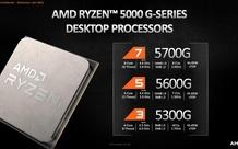AMD tung ra dòng CPU Ryzen 5000G đầu tiên, tích hợp card đồ họa Vega 8