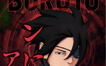 Ảnh bìa Boruto chap 58 xuất hiện Sasuke