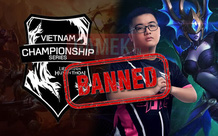 CHÍNH THỨC: Dia1 bị cấm thi đấu 1 năm, Quản lý SBTC bị cấm khỏi VCS 2 năm vì