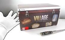 Mở hộp Resident Evil Village phiên bản giới hạn, siêu hiếm trên thế giới