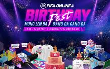 FIFA Online 4 kỷ niệm sinh nhật 3 tuổi bằng siêu lễ với hàng ngàn phần quà cực khủng