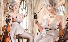Đắm mình trước bộ cosplay nhân vật Seattle trong tựa game Azur Lane, đã xinh như nàng thơ lại còn biết chơi đàn