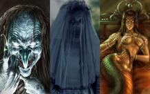 Những nữ quái khiến người yếu bóng vía rùng mình vì quá đáng sợ