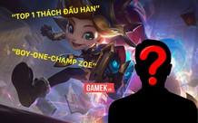 Cao thủ ẩn danh đang chiếm giữ top 1 Thách Đấu Hàn, khiến cả các siêu sao như Canyon, Cuzz cũng phải ngả mũ là ai?