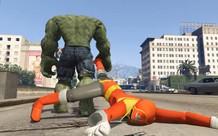 Xem Hulk hành hạ te tua Siêu Nhân Đỏ
