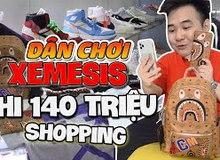 Đọ độ giàu của giới streamer Việt chắc chẳng ai bằng Xemesis, shopping sương sương thôi cũng hết 140 triệu