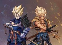 """Dragon Ball: Goku và đồng bọn """"ngầu như trái bầu"""" khi xuất hiện trong trang phục Samurai Nhật Bản"""