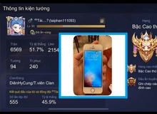 """Chủ nick Liên Quân Mobile có 240 skin bị khóa TK: """"Tôi dùng iOS, họ nói tôi sửa file APK"""""""