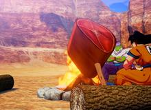 Bất ngờ với gameplay của Dragon Ball Z: Kakarot – Săn thú, nướng thị như ARK