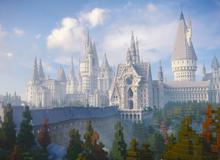 4 năm trời ròng rã, nhóm game thủ đã xây dựng thành công thế giới Harry Potter trong Minecraft