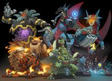 Xem album tranh Pokemon phong cách cỗ máy chiến đấu cực chất của họa sĩ Tây Ban Nha