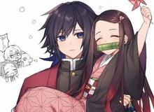 """Kimetsu no Yaiba: Hóa ra """"anh Đụt"""" và """"em gái quốc dân"""" Nezuko lại là cặp đôi dễ thương phết"""