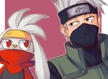 """Khi các ninja trong Naruto trở thành huấn luyện Pokemon thì sẽ """"chất"""" như thế nào?"""