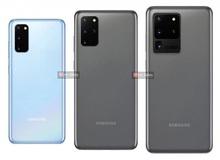 Đây là ảnh render chính thức của Galaxy S20, Galaxy S20+ và Galaxy S20 Ultra