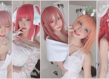 Xem loạt ảnh cosplay 5 chị em đẹp quên sầu của nữ cosplayer số 1 Nhật Bản Enako