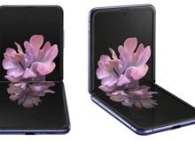 Smartphone màn hình gập vỏ sò Galaxy Z Flip lộ ảnh render chính thức, giá 38 triệu đồng