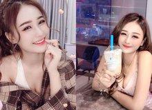 Chỉ một khoảnh khắc ngồi uống trà sữa, nàng hot girl xinh đẹp nhanh chóng trở thành tâm điểm của cộng đồng mạng