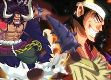 """Spoiler One Piece 970: Oden quyết chiến với Kaido, dùng song kiếm """"tha thu"""" cho rồng khổng lồ"""