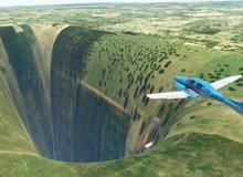 Game thủ bất ngờ phát hiện ra hố đen vô tận trong Microsoft Flight Simulator 2020