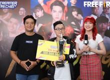 Streamer Free Fire 16 tuổi dành tặng chức vô địch Streamer Đại Chiến trị giá 100,000,000VND để mẹ chữa bệnh