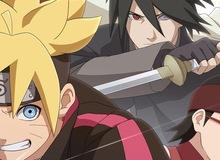 Sasuke Shinden giới thiệu 1 loại kunai mới có thể phát huy tối đa hiệu quả của nhẫn thuật hệ lôi