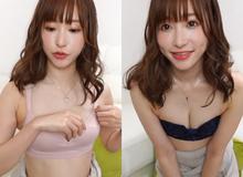 """""""Thiên sứ"""" 18+ Nhật Bản làm vlog review đồ lót ngay trên sóng khiến fan hâm mộ ngỡ ngàng"""