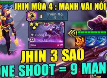 ĐTCL: Jhin - Quân bài tẩy 'leo rank ầm ầm' với sức mạnh kinh hoàng, quét sạch team bạn chỉ với 4 phát bắn, chất hơn cả mùa 3