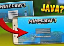 Tin đồn về Minecraft Java Edition dành cho Android