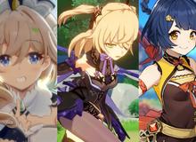 """Top 5 nhân vật 4 sao cực kỳ hữu ích giành cho những tân thủ """"nhân phẩm kém"""" trong Genshin Impact"""