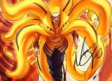 """Boruto: Loạt tranh siêu đỉnh về hình thức """"Thần Cáo"""" của Naruto - trạng thái """"tối thượng"""" có thể khiến ngài Hokage phải chết"""