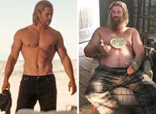 """7 lần """"biến hình"""" đáng kinh ngạc của dàn sao Marvel, sốc nhất là Thor và Captain America"""