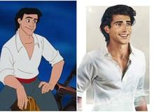 """Bất ngờ trước """"phiên bản đời thực"""" của các nam chính trong phim hoạt hình Disney, toàn cực phẩm khiến chị em muốn """"rụng trứng"""""""