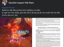 """Xuất hiện """"giáo sư"""" Genshin Impact, làm bài luận dài 5 trang giấy để hướng dẫn xây dựng nhân vật"""