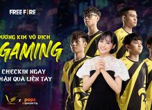 """HOT: MC Minh Nghi trở thành """"Thần phù hộ"""" của đương kim vô địch V Gaming Free Fire tại Chung kết Đấu Trường Sinh Tồn"""
