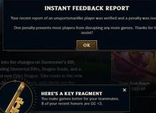 Riot Games: 'Chúng tôi đánh giá cao những report chính xác hơn việc spam nút tố cáo mọi game'