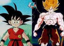 """Chiêm ngưỡng bộ ảnh các nhân vật trong Dragon Ball """"dậy thì thành công"""" khi trưởng thành"""