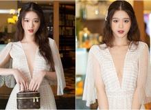 Xuất hiện đầy xinh đẹp khi dự sự kiện, Linh Ka khiến cộng đồng mạng xôn xao, nhưng sự tập trung lại đổ dồn vào vòng một