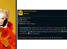 Riot bất ngờ ra mắt item Mythic với khả năng dồn sát thương khủng cho hỗ trợ tại Tiền Mùa Giải 2021