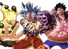 Top 50 nhân vật anime được yêu thích nhất trên thế giới do fan bình chọn, Goku đứng thứ 26, Naurto 9 còn Luffy 3