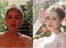 Xoài Non giật spotlight trong hình cap vội ở hậu trường MV cưới, so với ảnh đã photoshop mới thấy nể