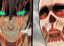 Dự đoán Attack On Titan chap 135: Armin tổng công kích, Eren tạo thêm Titan cản đường