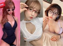 Ngắm vẻ đẹp sexy của các mỹ nữ 18+ Nhật Bản lúc đeo kính