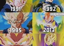 """Khi các nhân vật huyền thoại trong anime """"đú trend"""", ai mới là cái tên """"dậy thì thành công"""" nhất?"""