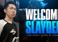 Chính thức: Xạ thủ Slayder gia nhập Team Secret