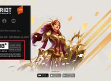 Nóng! Bom tấn Riot được VNG tung trang chủ chính thức, chắc chắn là một game 18+ và phát hành trước 8/12?